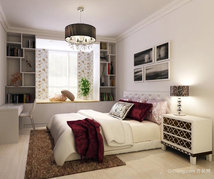 三居室唯美风格卧室装修效果图