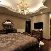 巴洛克卧室创意吊顶装饰