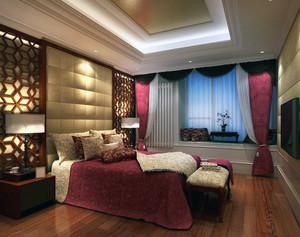 鳞次栉比:百平大户别墅奢华卧室装修图例