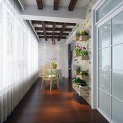 窗明几净:16㎡细腻宜家小户阳台装修设计图