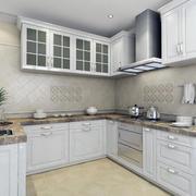 大户型欧式厨房装修设计效果图