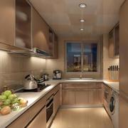 大户型精致型厨房装修效果图