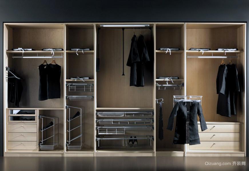 现代小户型欧式整体衣柜装修效果图