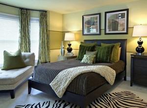 复式楼宜家风格卧室装修效果图