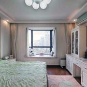 美轮美奂:50㎡大型美式风卧室装修效果图