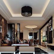 三居室中式风格室内装潢设计效果图