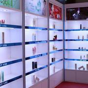 小型时尚现代简约风格化妆品柜台装饰