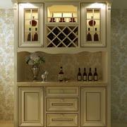 淡色调酒柜装修设计