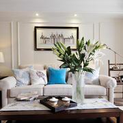 小户型客厅沙发背景墙装饰画