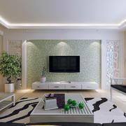 精美欧式小户型电视背景墙装修效果图
