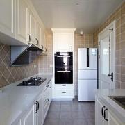 水色秀丽:地中海小户型厨房装修设计图例