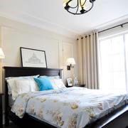小户型卧室美式床