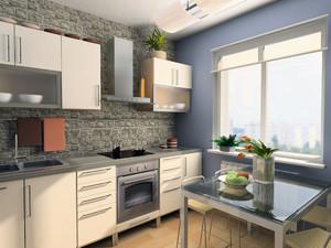 宜家小户温馨厨房装修设计图例