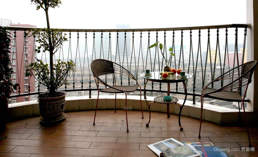 别墅情趣十足阳台装修效果图