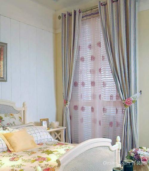 美观的大户型欧式窗帘装修效果图