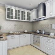 唯美的别墅型简欧厨房装修效果图