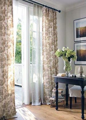现代大户型精美欧式窗帘装修效果图