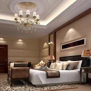 欧式简约风格宾馆房间吊顶装饰