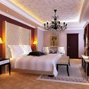 欧式简约风格宾馆卧室设计