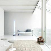 小户型大气北欧风格清新客厅地毯装饰