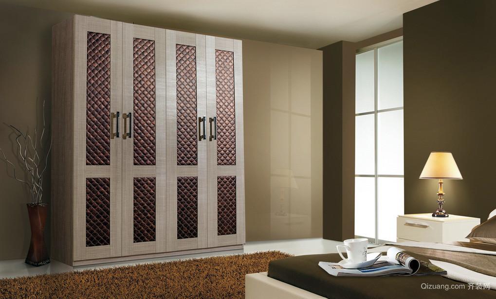 单身公寓卧室好莱客衣柜装修效果图