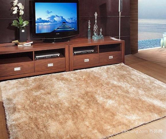 120平米复式楼中式简约风格客厅地毯装饰