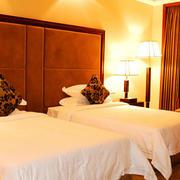 宾馆简约风格房间灯饰装饰
