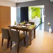 家庭小餐厅餐桌椅