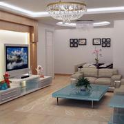 现代欧式大户型室内设计装修效果图