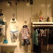 50平米小型混搭风格童装店装修效果图