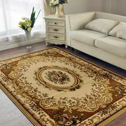 跃层欧式简约风格客厅地毯装饰效果图