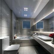 公寓干净卫生间欣赏