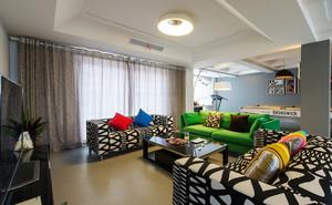 复式楼客厅时尚沙发