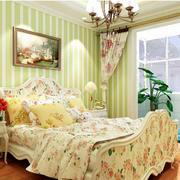 田园清新公寓卧室