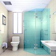 唯美欧式大户型洗手间装修效果图