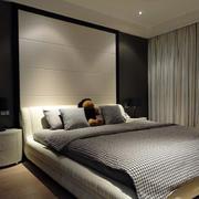 公寓简约卧室榻榻米床