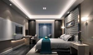 后现代风格三居室卧室装修效果图