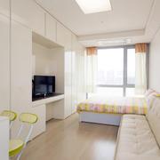 公寓组合白色电视柜欣赏