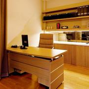 复式楼温馨书房书桌