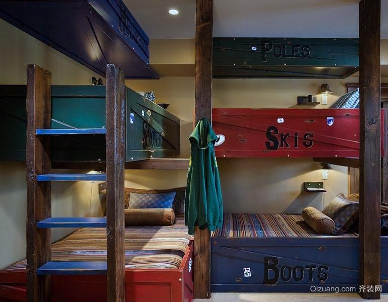 舒适大户型地中海风格儿童房装修效果图