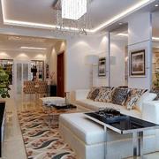 公寓客厅转角舒适沙发