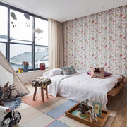 家庭儿童房卧室壁纸