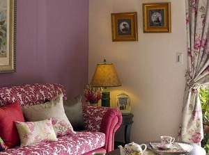 乡村田园两居室老年公寓装修效果图
