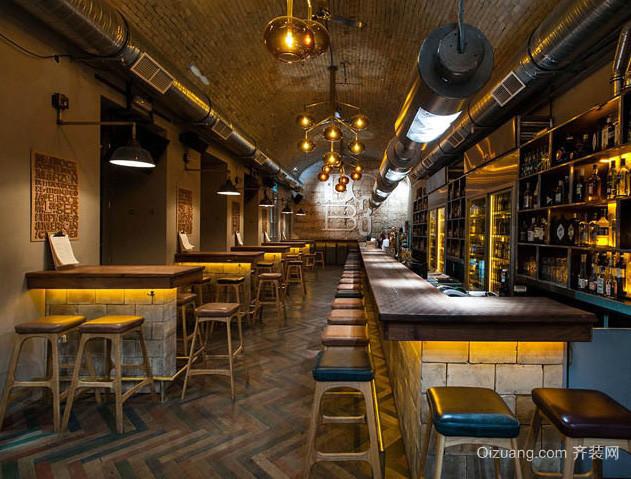 loft风格大户型快餐厅装修设计效果图