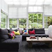 阳光房舒适布艺沙发
