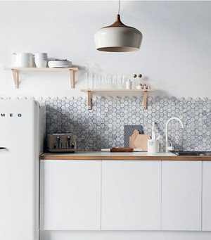 新款地中海风小户型厨房装修图精选