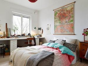 复式3居宜家风格小卧室精装效果图