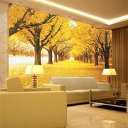 简约温馨大户型客厅沙发背景墙设计效果图
