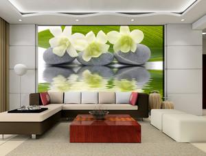 时尚大公寓客厅沙发背景墙设计效果图
