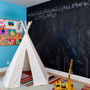 创意型2015后现代风格复式楼卧室精装图集